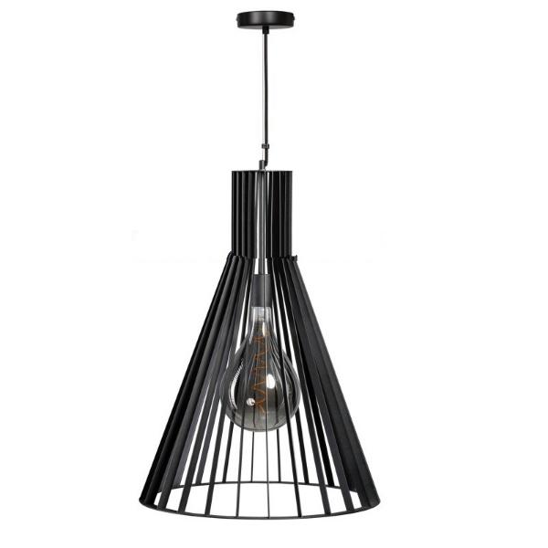 Zwarte hanglamp charlie 1 lichts