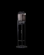 zwarte vloerlamp glamm 136cm