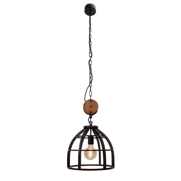 Hanglamp Aperto zwart 60cm